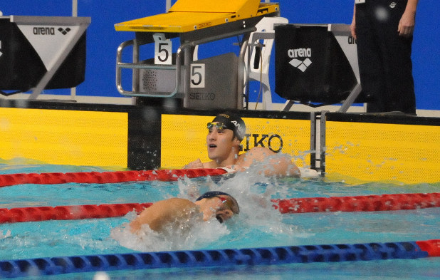 世界記録を目指す」 競泳・瀬戸が萩野の日本記録に肉薄 - 毎日新聞