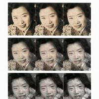 東京歯科大の橋本正次教授が作成した少女と藤井さんの写真の比較画像=橋本教授提供