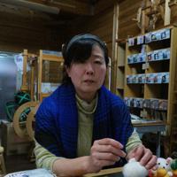 居場所づくりにこだわる吉田尚代さん=南部町鶴田で、横井信洋撮影