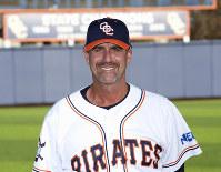 This undated photo released by Orange Coast College shows its head baseball coach John Altobelli. (Orange Coast College via AP)
