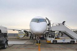 スペースジェットの試験10号機=三菱航空機提供