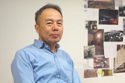 写真家の畠山直哉さん=東京都内で2020年1月、永田晶子撮影