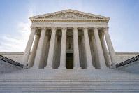 In this June 17, 2019 file photo, shows the Supreme Court in Washington. (AP Photo/J. Scott Applewhite)