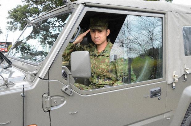 別府大分毎日マラソン 縁の下の力持ち、96隊員 陸自別府駐屯地 ...