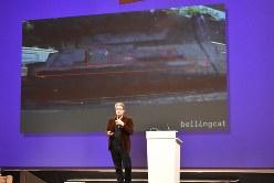 ベリングキャットを創設したエリオット・ヒギンスさん=オランダ・ユトレヒトで2019年7月16日、八田浩輔撮影