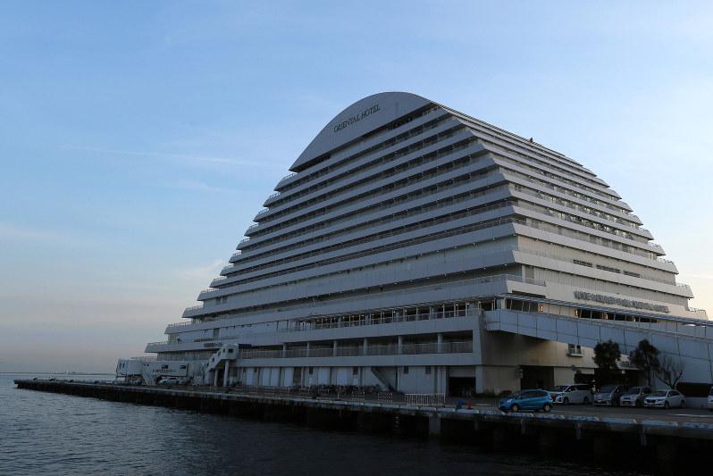 ジャパン・ホテル・リート投資法人が保有する神戸メリケンパークオリエンタルホテル(Bloomberg)