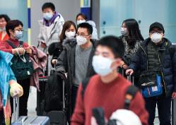 訪日客の減少は日本経済にも打撃…(関西国際空港)
