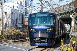 新宿付近を走る相鉄直通列車(いずれも筆者撮影)