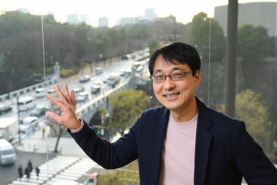 教育評論家の石田勝紀さん=東京都千代田区で2019年12月23日、北山夏帆撮影