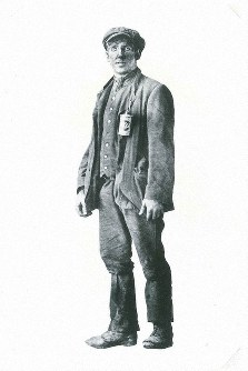 C.W. Nicol's grandfather, George Rice. (Photo courtesy of the C.W. Nicol Afan Woodland Trust)