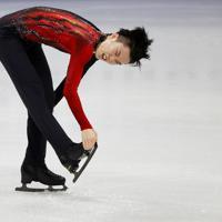 【4大陸フィギュア】男子フリーで演技する友野一希(同大)=韓国・ソウルで2020年2月9日、ロイター