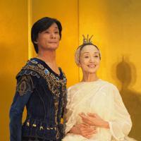 堀内充(左)と森下洋子=斉藤希史子撮影