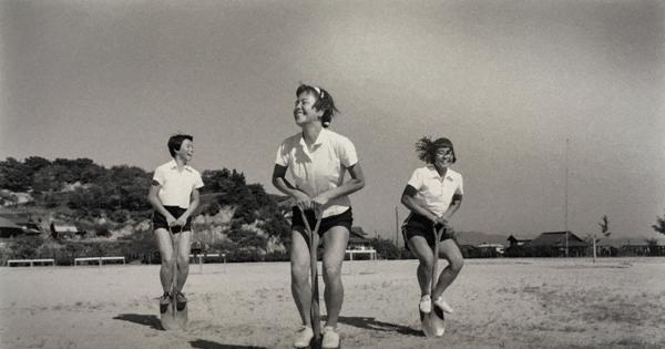 被爆オリンピアンが写した希望 聖火リレーに合わせ広島で写真展