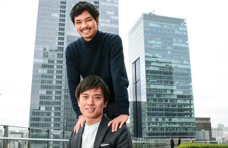 平井瑛 estie代表取締役CEO/宮野恵太 estie取締役CTO オフィス探しを効率的に