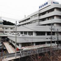 新型コロナウイルスへの感染が確認された男性医師が勤務する済生会有田病院=和歌山県湯浅町で2020年2月14日午前8時2分、小出洋平撮影