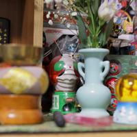 浜田静里奈さんは東日本大震災の津波で父や弟、祖父母と曽祖母の5人を亡くした。母亮子さんは「写真は置けない。思い出すとつらくて普通に生活ができなくなっちゃうから」=仙台市青葉区で2019年12月、和田大典撮影