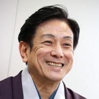 「米朝五年祭」について語る落語家の桂米団治さん=大阪市北区で2020年1月28日、梅田麻衣子撮影