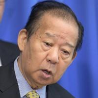 自民党の二階俊博幹事長=川田雅浩撮影