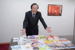 Interviewer 藤枝 克治(本紙編集長) Photo 武市 公孝:東京都千代田区の本社で