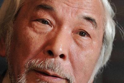 生前の西部邁さん=東京都千代田区で2011年4月15日、久保玲撮影