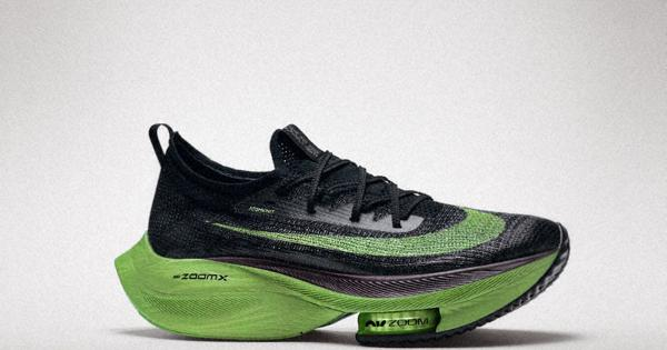 thick-soled marathon shoes
