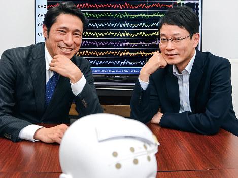 松原秀樹 PGV社長/関谷毅 PGV脳波センサー発明者 脳波データに「本音」あり