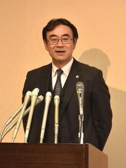 Hiromu Kurokawa, superintending prosecutor at the Tokyo High Public Prosecutors Office, is seen in the Kasumigaseki district of Tokyo's Chiyoda Ward on Jan. 21, 2019. (Mainichi/Kazuhiro Toyama)