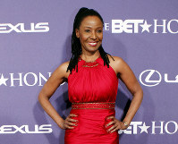 In this Jan. 14, 2012 file photo, former model and restaurateur B. Smith arrives at the BET Honors red carpet in the Warner Theatre in Washington. (AP Photo/Jose Luis Magana)