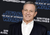 In this Dec. 16, 2019, file photo, Disney CEO Robert Iger arrives at the world premiere of
