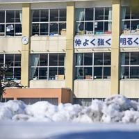 臨時休校となり閑散とする小学校=北海道北広島市で2020年2月27日午後1時18分、竹内幹撮影
