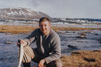 北極地方を調査していた当時のニコルさん=C.W.ニコル・アファンの森財団提供