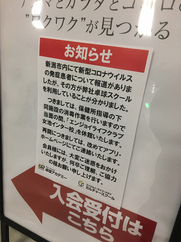 新潟 コロナ ウイルス