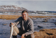 C.W. Nicol is seen investigating the Arctic region, in this photo provided by the C.W. Nicol Afan Woodland Trust.