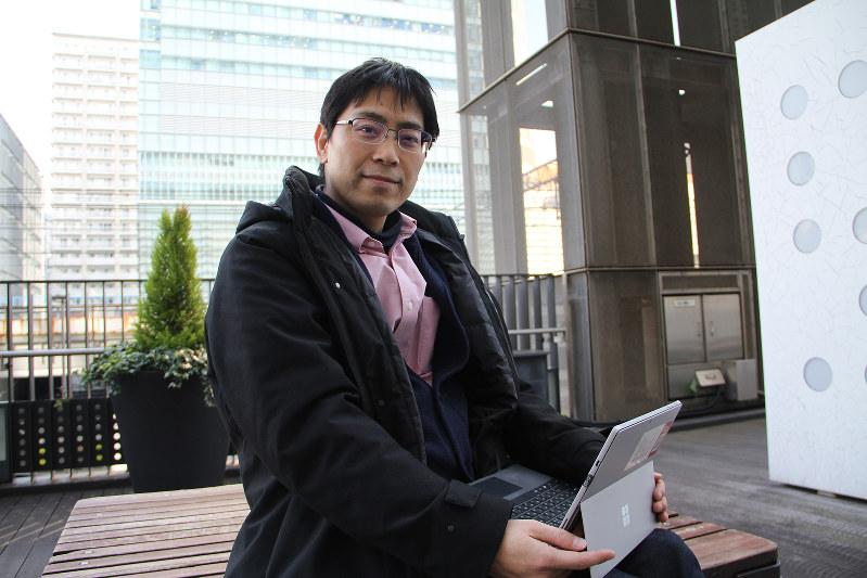 医師に治験実施の提案をした長谷川一男さん