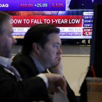 ニューヨーク証券取引所=2020年3月9日、AP