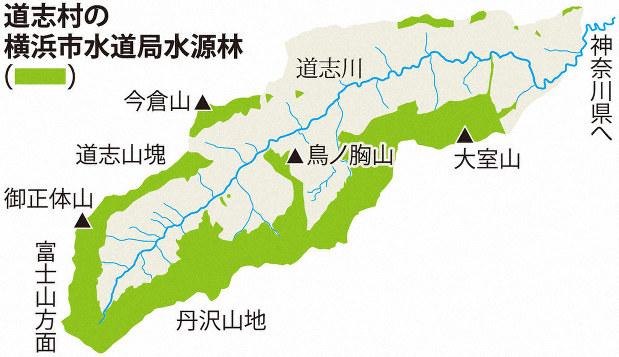 道 志村 山梨