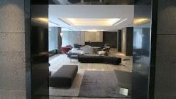 「ザ・パークハウス渋谷南平台」に設置されたラウンジ