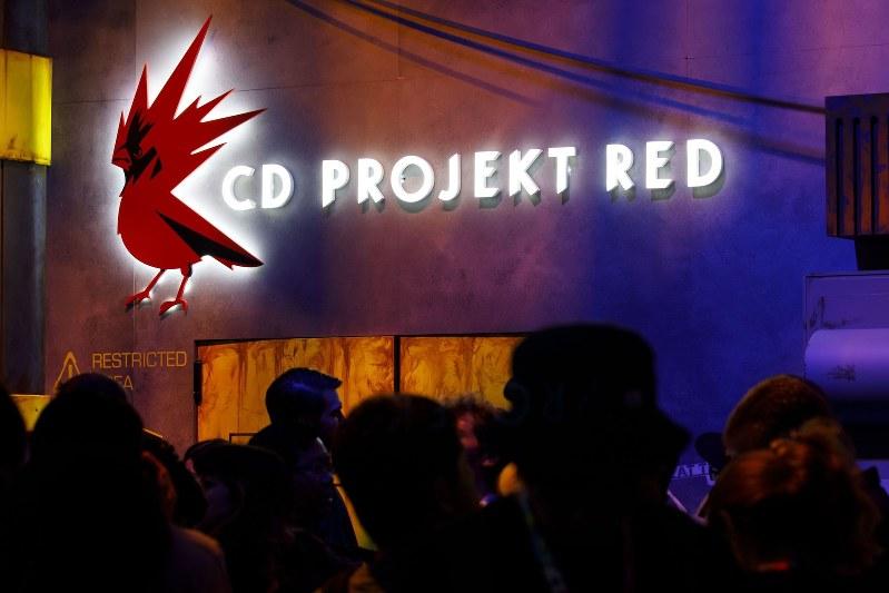 コンピューターゲーム見本市でのCDプロジェクト Bloomberg