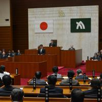 ネット・ゲーム依存症対策条例案について審議する香川県議会=高松市で2020年3月18日午前11時7分、金志尚撮影
