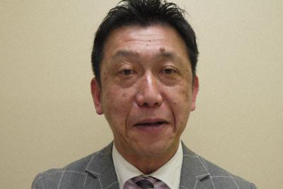 落語家の林家染二=東京都千代田区で2020年2月、田中博子撮影