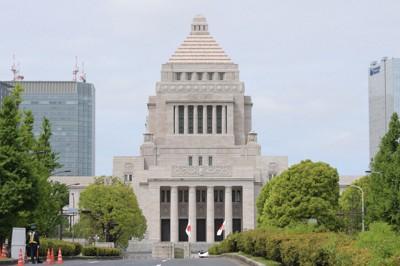 国会議事堂=川田雅浩撮影