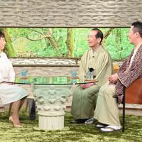 「サワコの朝」に登場する林家木久扇さん・木久蔵さん(右)=MBS提供