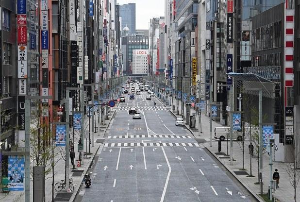 都内で外出自粛 銀座の街も渋谷の交差点もガラン[写真特集1/37 ...