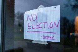 予備選中止が相次ぐ(オハイオ州)(Bloomberg)