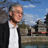 小出裕章さん=長野県松本市で2020年3月11日、沢田石洋史撮影