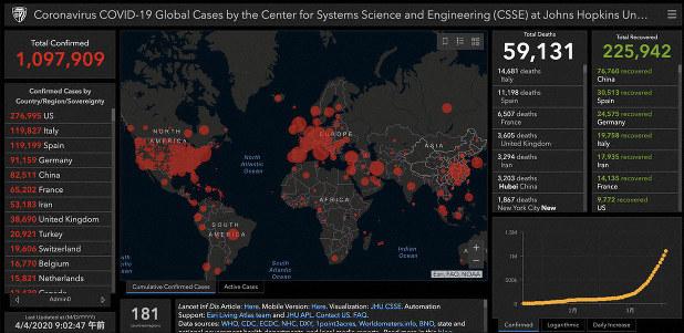 新 コロナ ウイルス 感染 者 数 世界
