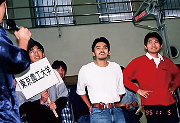 東京農工大学時代にはロボットコンテストにも出場