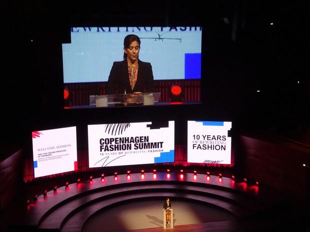 「Copenhagen Fashion Summit」は、2009 年のCOP15(国連気候変動枠組み条約第15回締約国会議)を きっかけに、ファッションビジネスにおける持続可能性を話し合う場として発展。2日間にわたり78人のパネリスト、世界48か国から1300人以上もの参加者が集う=2019年5月、筆者撮影