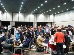 「東京サンドボックス」のようなインディーゲーム見本市も国内で増えてきている 筆者撮影