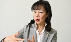 これまでの国際交渉について語る小西雅子・WWFジャパン専門ディレクター=東京都世田谷区で2020年3月25日、宮本明登撮影